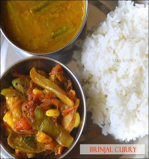 Brinjal recipe curry